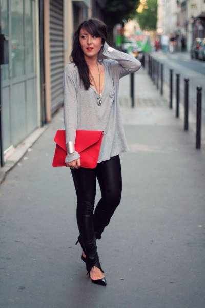 How to Style Red Clutch Bag: Best 15 Outfit Ideas for Ladies .