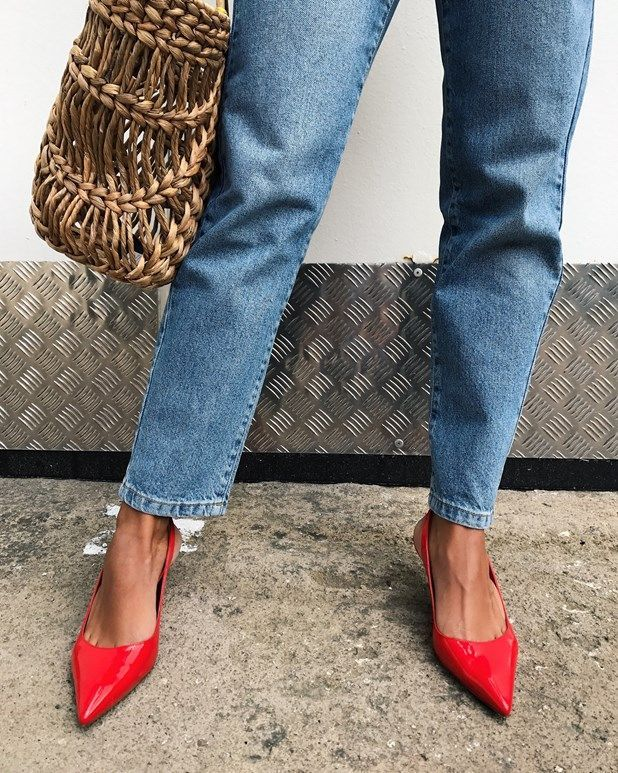 my favorite ways to style the slingback heel (Matildadjerf blog .