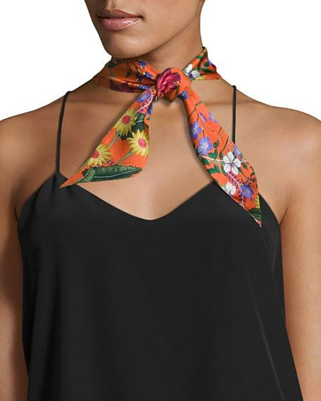 Wonderful Skinny scarf, bold bright and colourful. Great scarf .