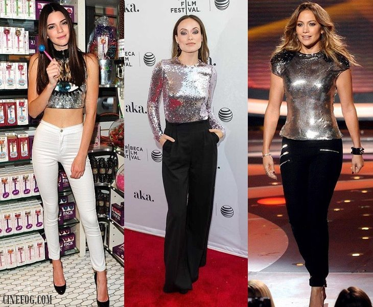 Silver Sequin Tops & Blouses 2017: Futuristic Metallic & Party .