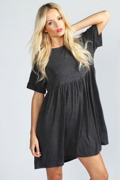 How to Style Smock Dress: 15 Gorgeous Outfit Ideas - FMag.c