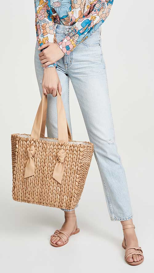 22 Best Straw Tote Bags On Trend For Summer! | Candie Anders