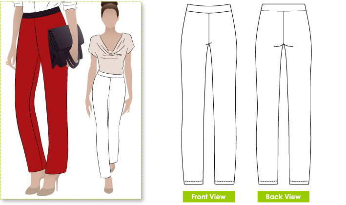Barb's Stretch Pant Sewing Pattern – Pants & Shorts Sewing .