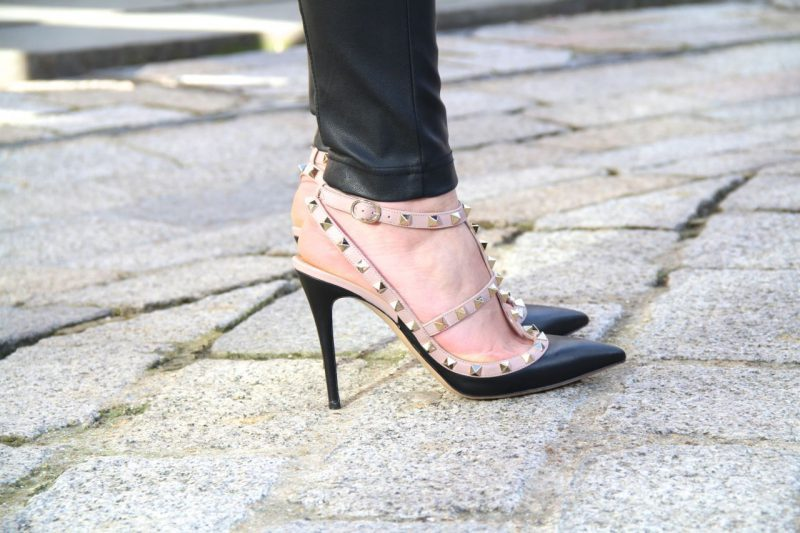 How To Wear Studded Heels In Real Life 2020 ⋆ FashionTrendWalk.c