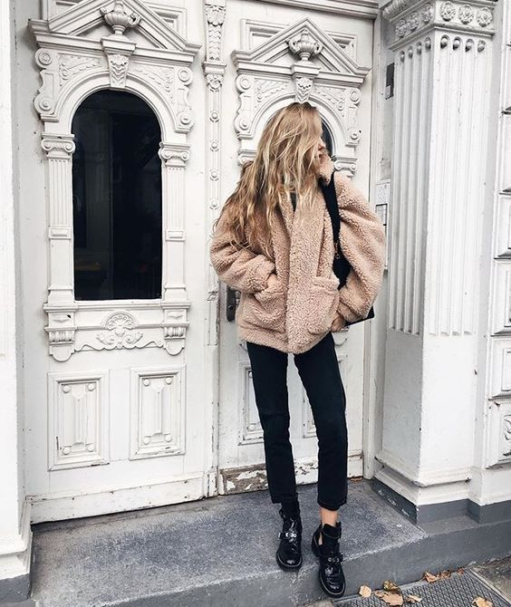 4 Stylish Ways To Wear A Teddy Coat This Winter | Fashion, Perfect .