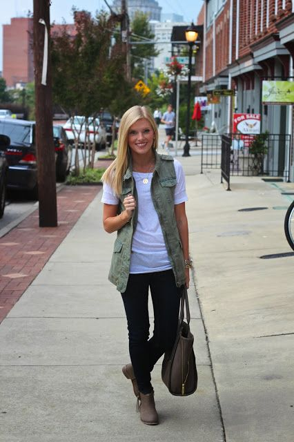 how to wear it well: 15 Ways to Wear a Military/Utility Ve