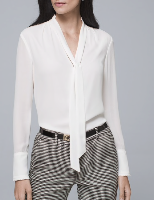 The Range: Tie Neck Blouses | The Work Edit by Capitol Hill Style .