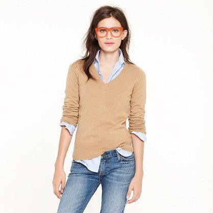 dream v-neck sweater ++ j.crew | Fashion, Style, Vneck sweat