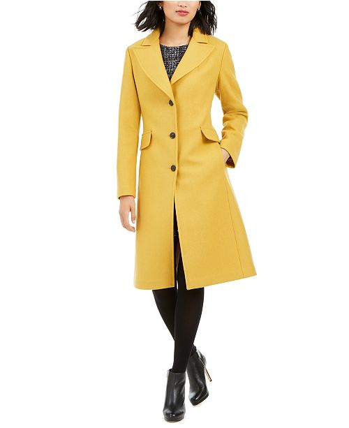 kate spade new york Single-Breasted Walker Coat & Reviews .