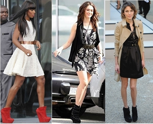 How to Wear Wedge Boots | Creative Fashi