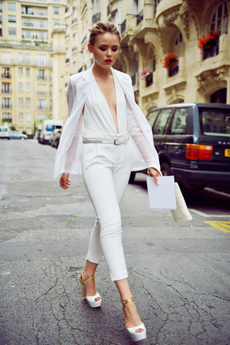 White Belt Outfits For Women (40 ideas & outfits) | Lookast