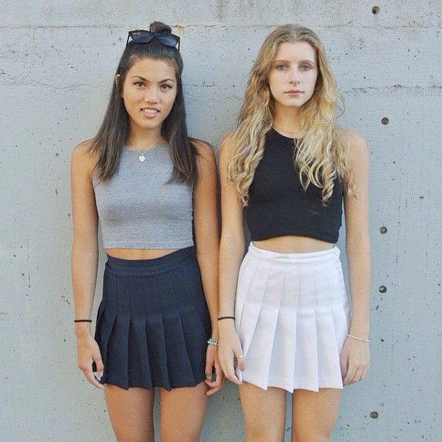 What to Wear with Tennis Skirts – Glam Radar | American apparel .