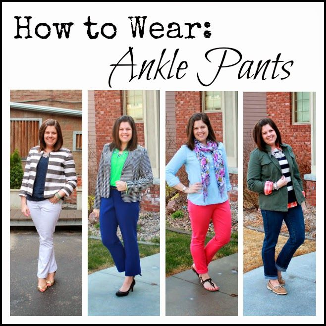 How to Wear: Ankle Pants | Ankle pants, Pants outfit work, Ankle .