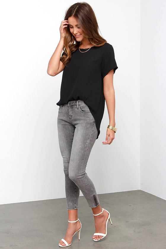 15 Best Outfit Ideas on How to Wear Ankle Zip Jeans - FMag.c