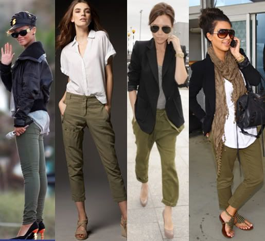 Confidence Completes Any Look | Army green pants outfit, Green .