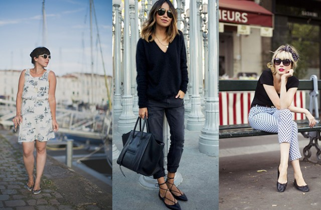 How to wear ballet flats? - Personal Shopper Paris - Dress like a .