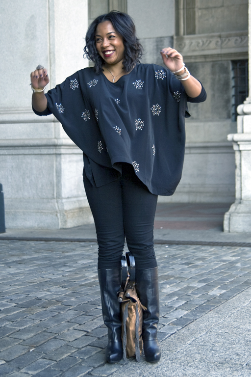 How to wear a batwing top Kéla's Klos