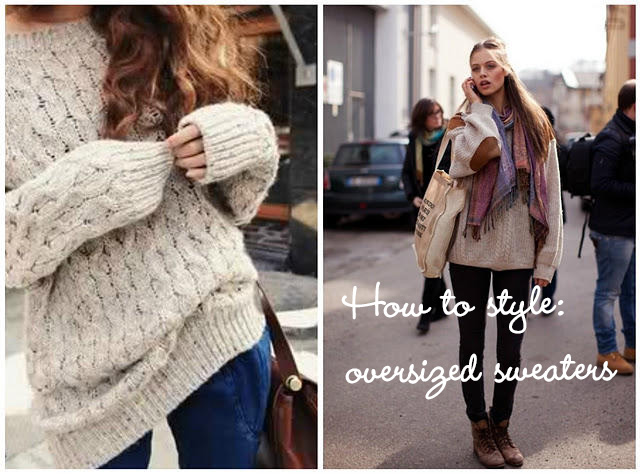 How to style oversized sweater | coolcatch