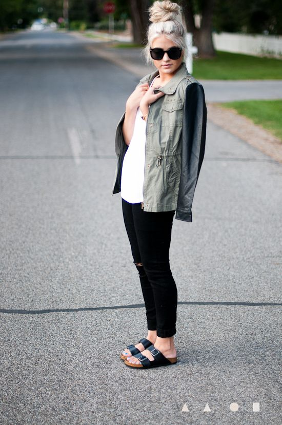 10 Chic Ways to Style Birkenstocks | Birkenstock outfit, Fashion .