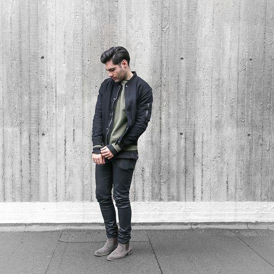Mens Style Tips - How to Wear a Bomber Jacket – Boys'