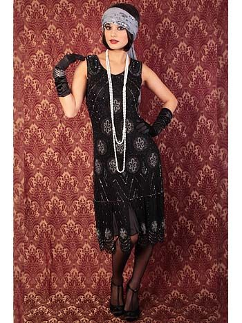 Vintage Style 1920s Flapper Dresses for Sale | Roaring 20s outfits .