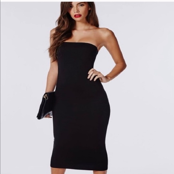 candlesfashionhouse Dresses | Black Tube Top Dress | Poshma