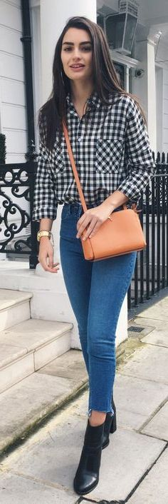 How To Wear Plaid Shirts For Women Best Outfit Inspiration 2020 .