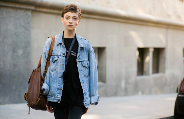 MAGIC 2017 Fall Fashion Trend: Boyfriend Denim Jackets – W