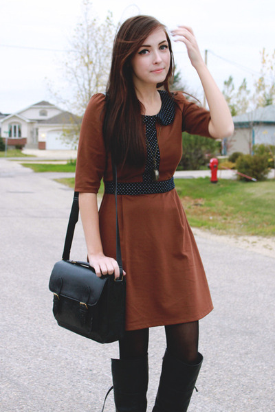 Brown Miss Patina Dress - How to Wear and Where to Buy | Chictop