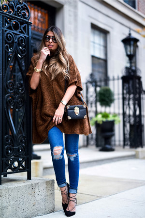 Dark Brown Sweater - How to Wear and Where to Buy   Chictop