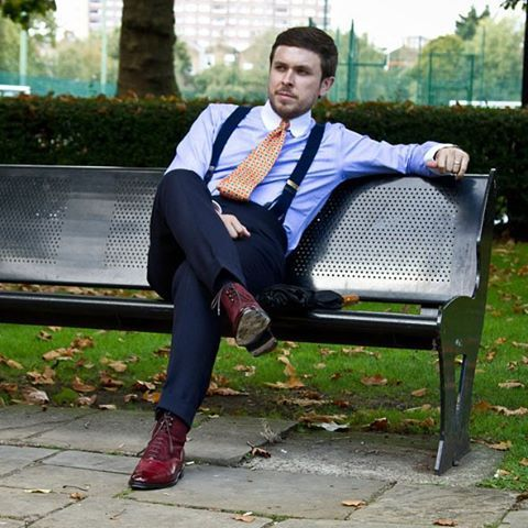 Custom Tailored Pants and Dress Pants| Chicerman | Burgundy shoes .