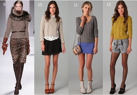 20 Ways to Wear Cable Knit Sweaters Differently | Creative Fashi