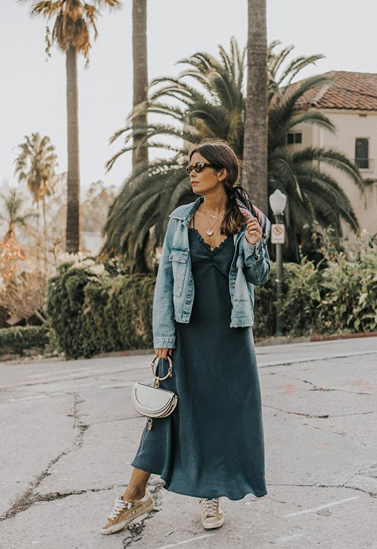 13 Best Slip Dresses to Get in 2020: Slip Dress Outfit Ide