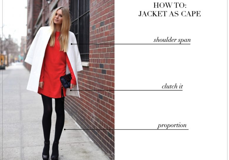 How to: Jacket as Cape | Collective G