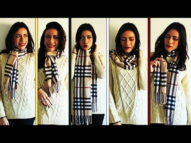 5 Ways To Wear A Cashmere Scarf - MoonCats Review .