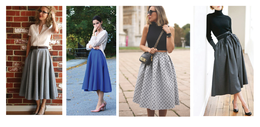 Circle Skirt Styling: How to Wear a Full Circle Skirt | Sew Dai