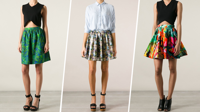 25 Girly Circle Skirts Perfect for Spring | StyleCast