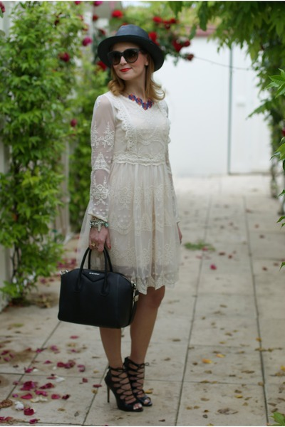 How to Wear Cream Lace Dress - Search for Cream Lace Dress | Chictop