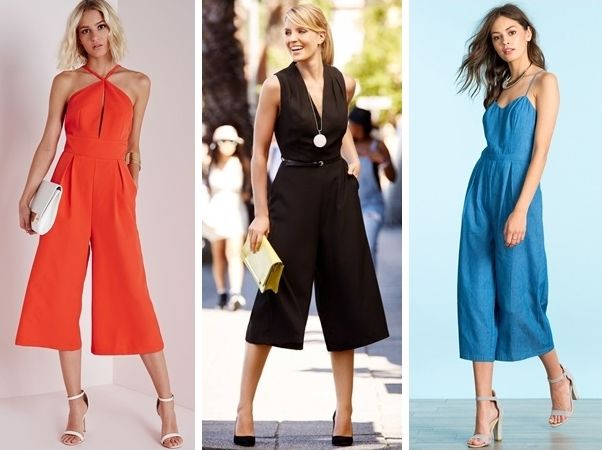 How to Wear the Culotte Jumpsuit in Fall | Creative Fashi