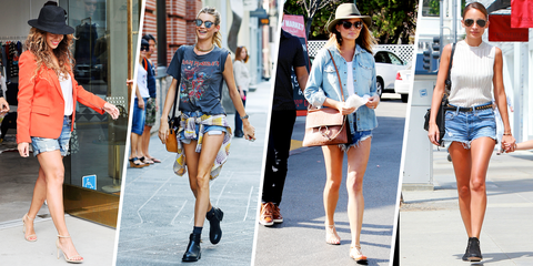 Denim Cut Off Shorts Trend for Summer 2015 - How to Wear Cutoff .