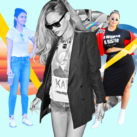 How to Wear T-Shirts — 13 Cute Ways to Style Your Te