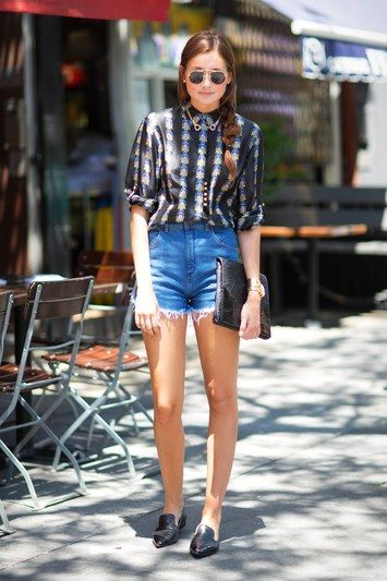 7 Ways to Wear Jean Shorts | Short outfits, Denim shorts outfit .