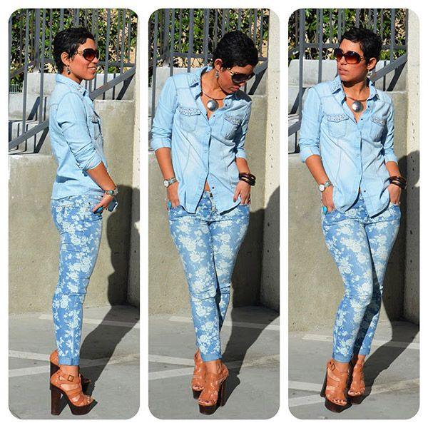 20 Style Tips On How To Wear Denim On Denim - Gurl.com | Fashion .