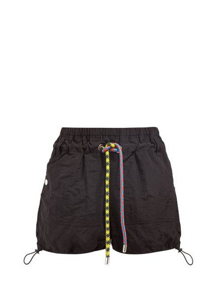 Shorts, $58 at ustrendy.com - Wheretoget | Drawstring waist shorts .