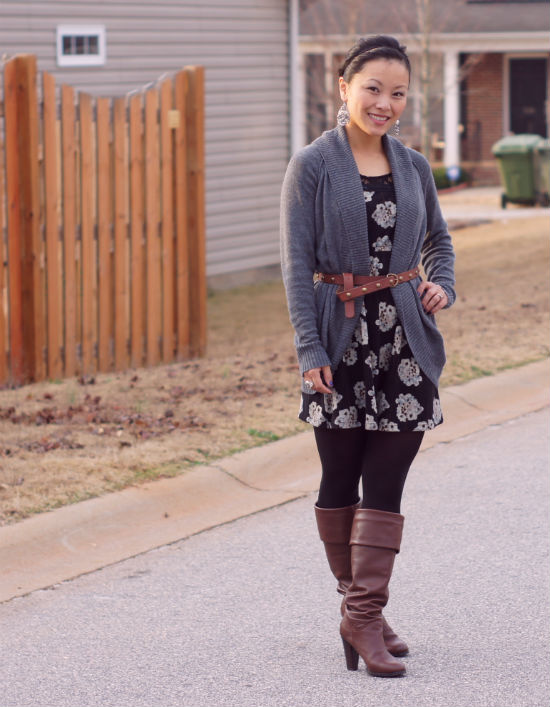 how to wear a cardigan with a dress > Factory Sto