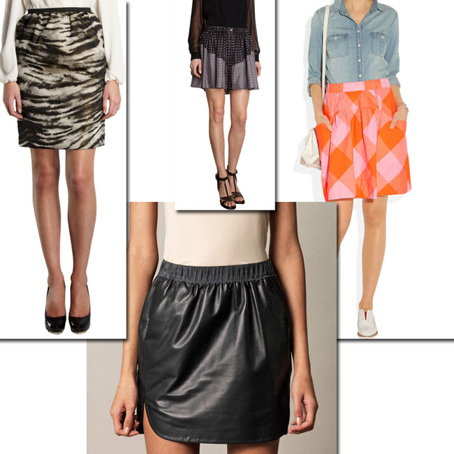 How to Make A Simple Elastic Waist Skirt Look Chic - Mood Sewcie