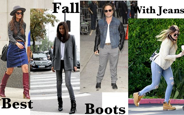 Best Fall Boots To Wear With Your Jeans : DenimBl