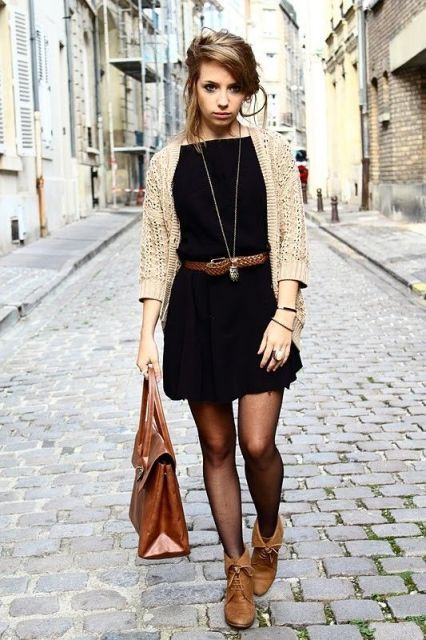 Cool Dress And Boots Combinations For Fall | Fashion, Style .