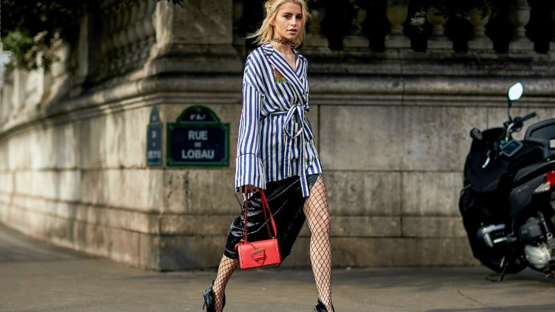 How to Wear Fishnets for a Bold and Chic Look - The Trend Spott