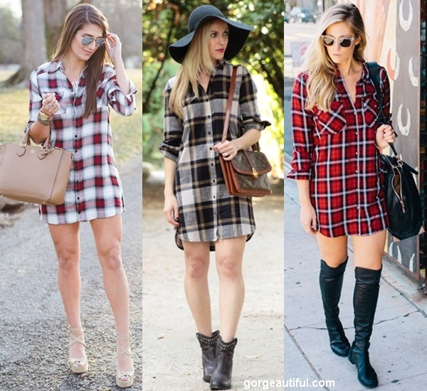 Ways to Wear Flannel and Plaid Shirt for All Season - Gorgeous .